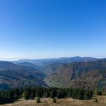 Der Feldberg - Aussicht vom Feldbergturm aus
