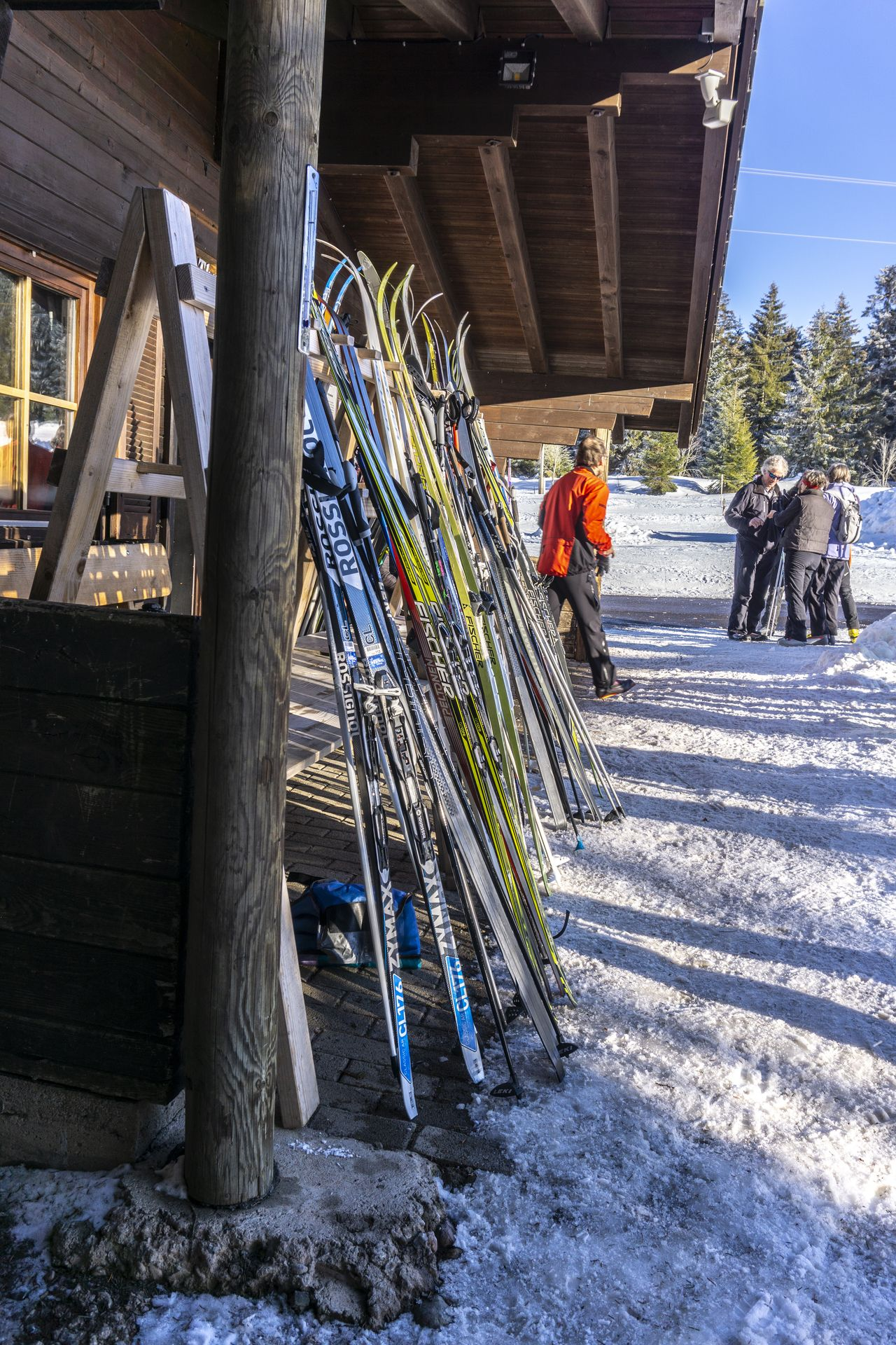 Skihütte an der Thurnerspur