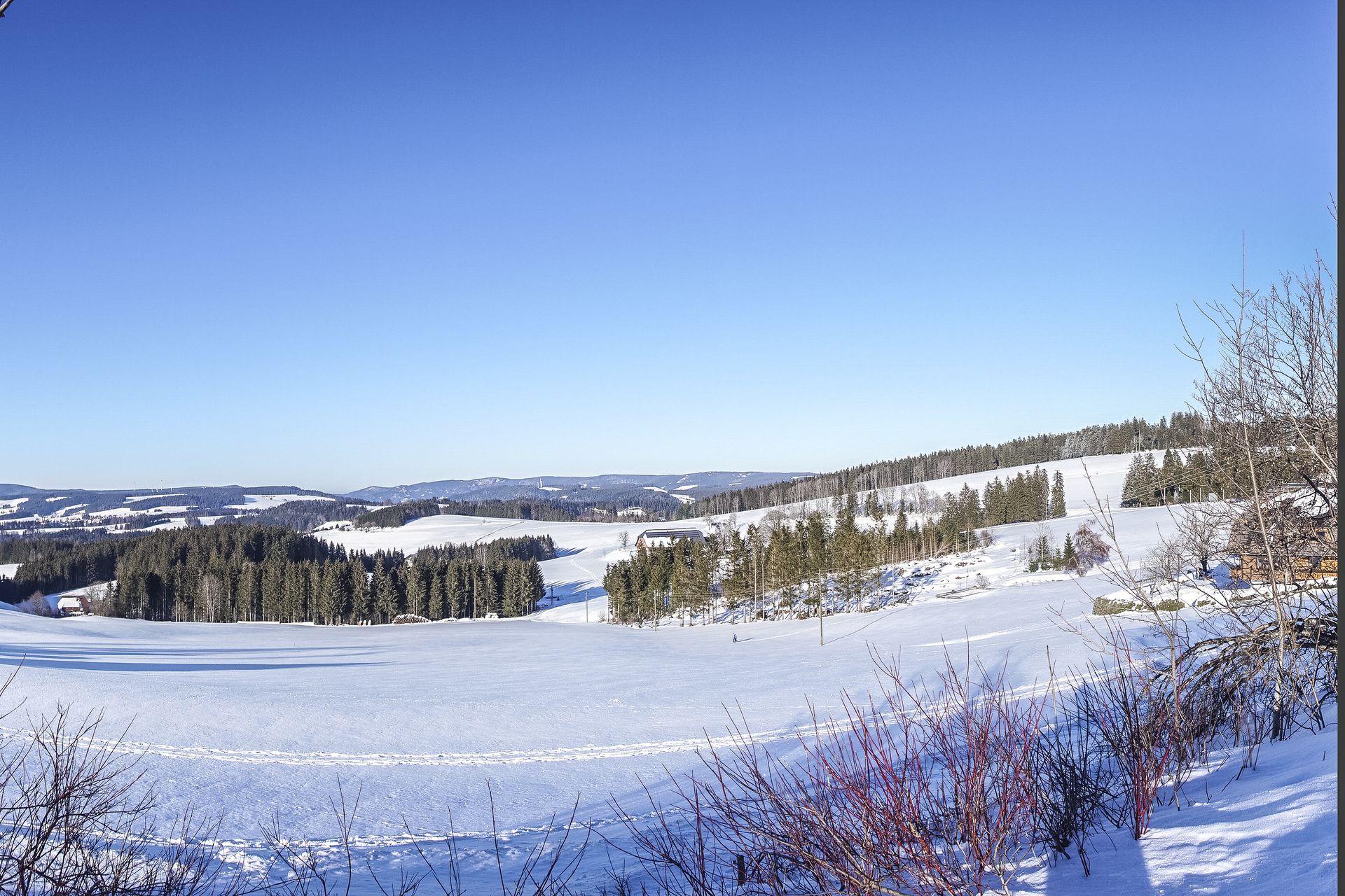 Winterlandschaft in Richtung St. Märgen