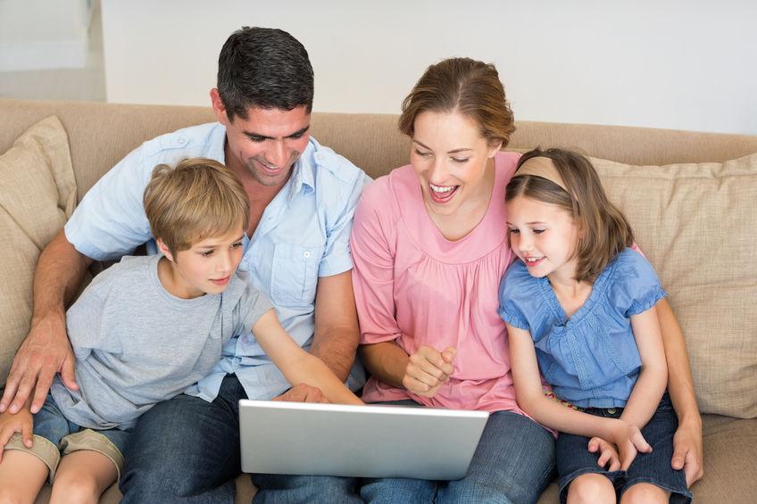 Familienurlaub zu Hause