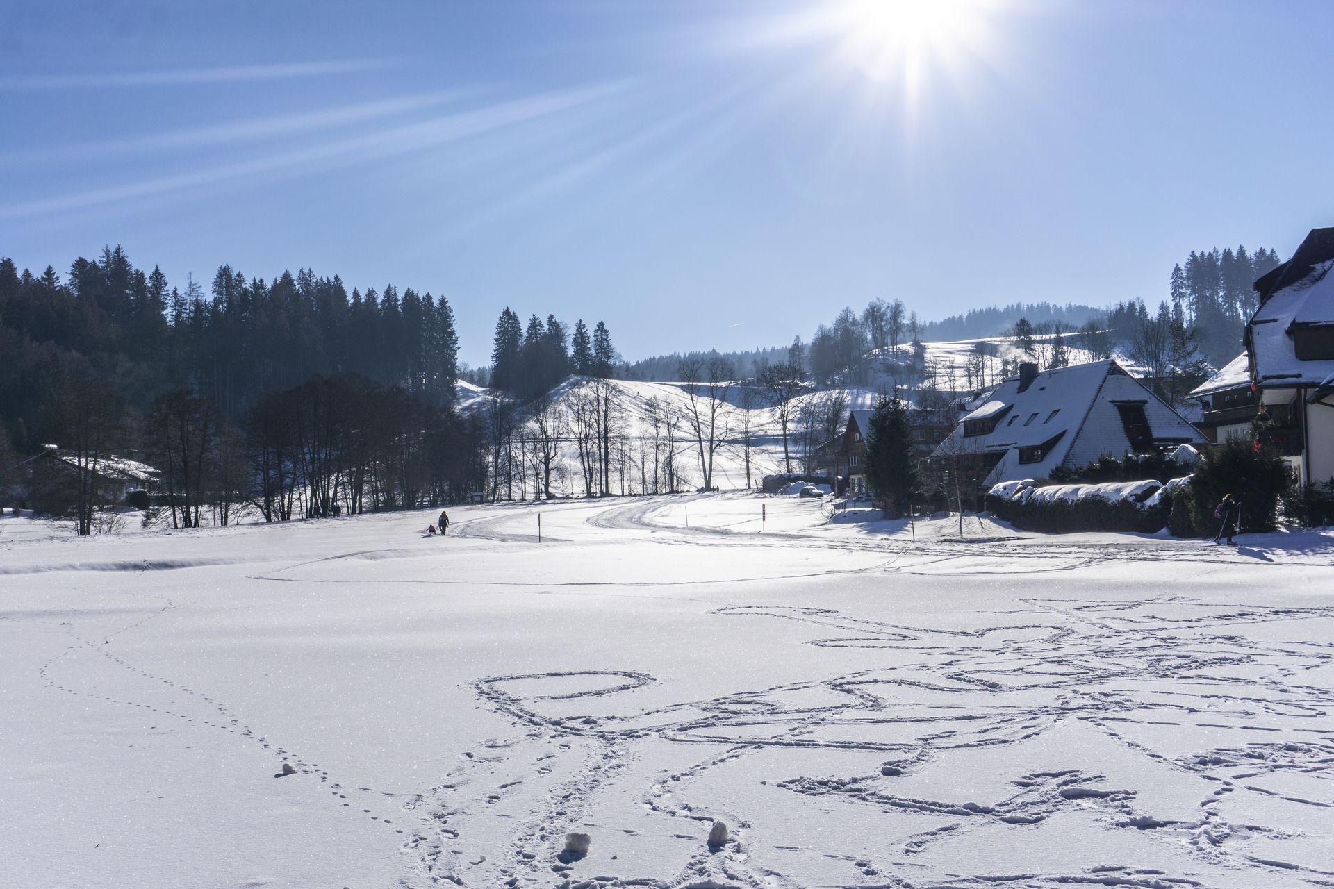 Hinterzarten Winterlandschaft