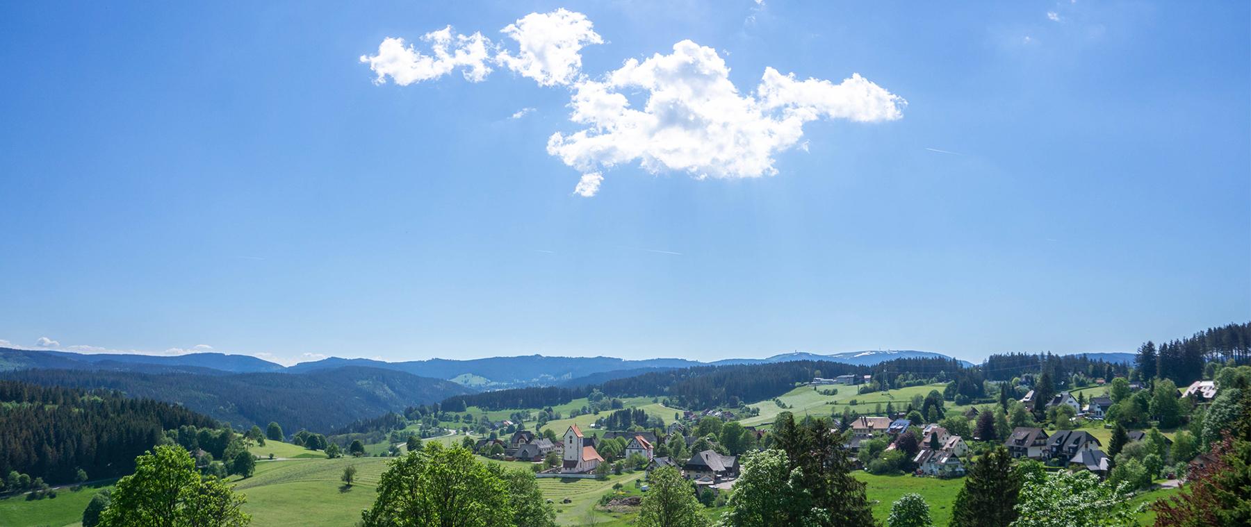 Reisetraum Schwarzwald - Blick auf Saig - Gemeinde Lenzkirch
