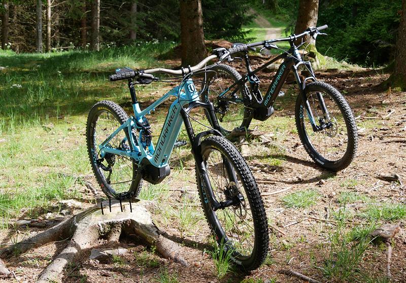 Die E-Mountainbikes