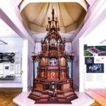 """Die """"Kunstuhr"""" der Uhrenfabriken Gebrüder Junghans zur Weltausstellung in Paris im Jahr 1900 im Stadtmuseum Schramberg"""